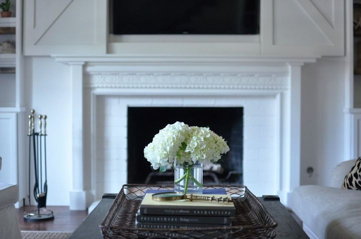 diy fireplace mantel reveal hometalk