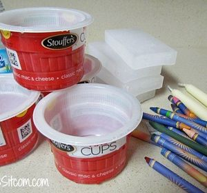 s why everyone is saving their empty food containers, repurposing upcycling