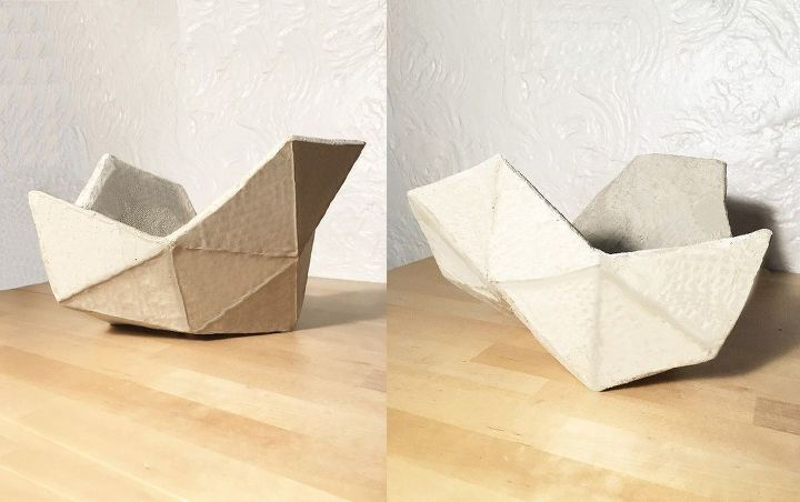 Geometric Cement Fruit Bowl Hometalk