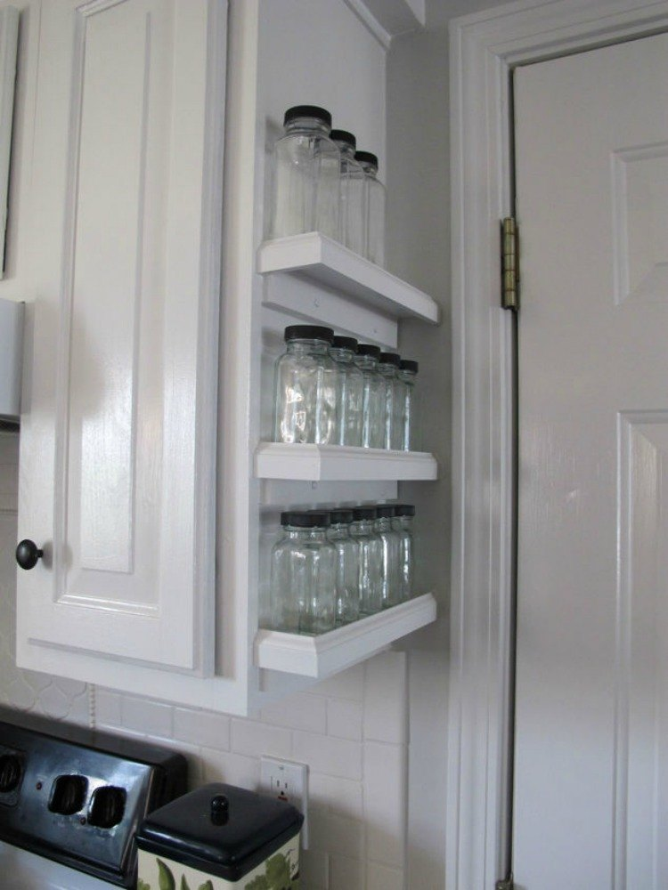 12 space saving hacks for your tight kitchen hometalk - Space saving cabinet ideas ...