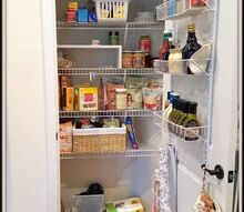 reworking our pantry, closet, organizing