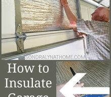 how to insulate garage doors and why you need to , garage doors, garages, home improvement, how to
