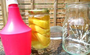 lemon vinegar cleaner, cleaning tips, go green, how to