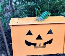 repurposed pumpkin, crafts, halloween decorations, how to, painting, repurposing upcycling, seasonal holiday decor