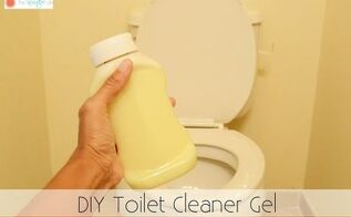 diy toilet cleaner gel, bathroom ideas, cleaning tips, how to