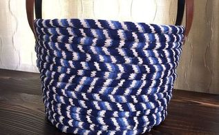 no sew fabric basket, crafts, how to, organizing, reupholster
