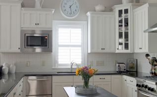 we painted our kitchen back splash, diy, kitchen backsplash, kitchen design, painting
