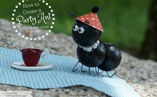 how to create a cute little party ant for your next party or bbq, crafts, how to
