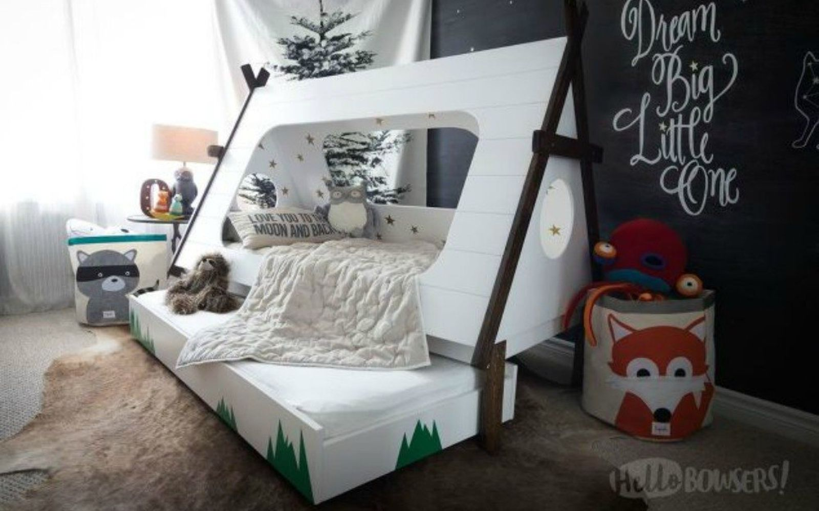 s 11 high end ways to use plywood in your room, bedroom ideas, woodworking projects, Build this super awesome tent bed