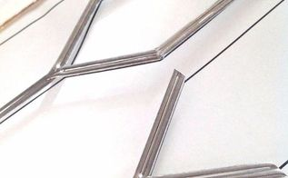 how to diy faux leaded glass, doors, how to, kitchen cabinets, painting, woodworking projects