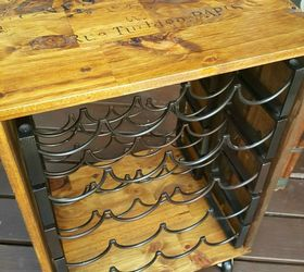 thrift store upcycle wine rack end table how to living room ideas painted - Wine Rack Table