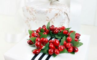 christmas gift wrapping, christmas decorations, crafts, how to
