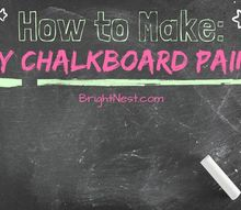 how to make diy chalkboard paint, chalkboard paint, crafts, how to