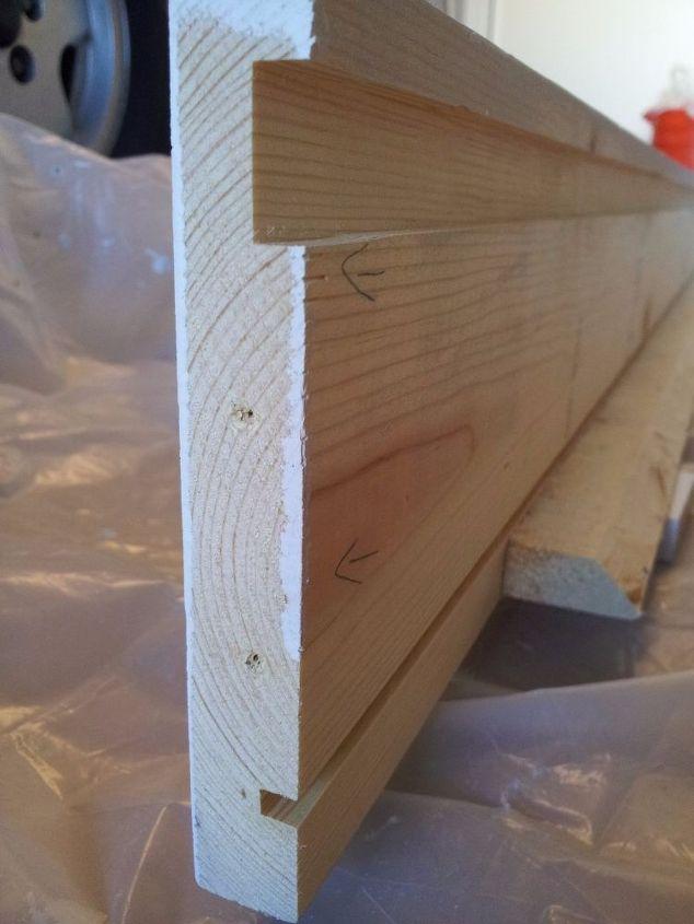 Diy Garage Wall Cabinet With Sliding Door Hometalk