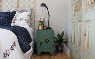 vintage doors to the rescue in our guest room update , bedroom ideas, doors, Guest Room