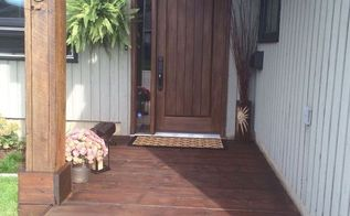 front house yard curb appeal makeover, curb appeal, home improvement, outdoor living, small home improvement projects