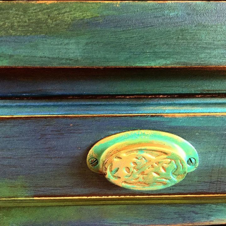 texture color and fairies , how to, painted furniture