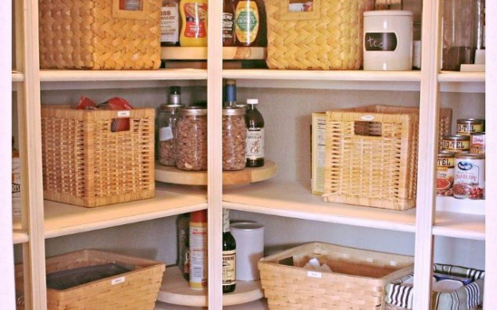 Organizing Pantry Shelves Realistically Organized Pantries: These Are The Pantry Organizing Hacks That You've Been