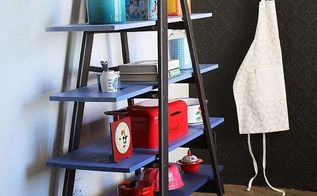easy diy from ladder to super storage, how to, painting, repurposing upcycling, shelving ideas, storage ideas