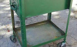 q vintage industrial cart, repurpose household items, repurposing upcycling