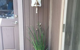 diy farmhouse decor dinner bell, crafts, how to, outdoor living, painting