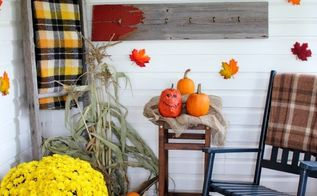 the talentless decorator s guide to fall porch decor, crafts, how to, porches, seasonal holiday decor