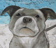 tips to paint your pet s portrait, how to, painting, wall decor