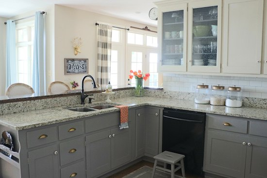 Why I Repainted My Chalk Painted Cabinets Hometalk