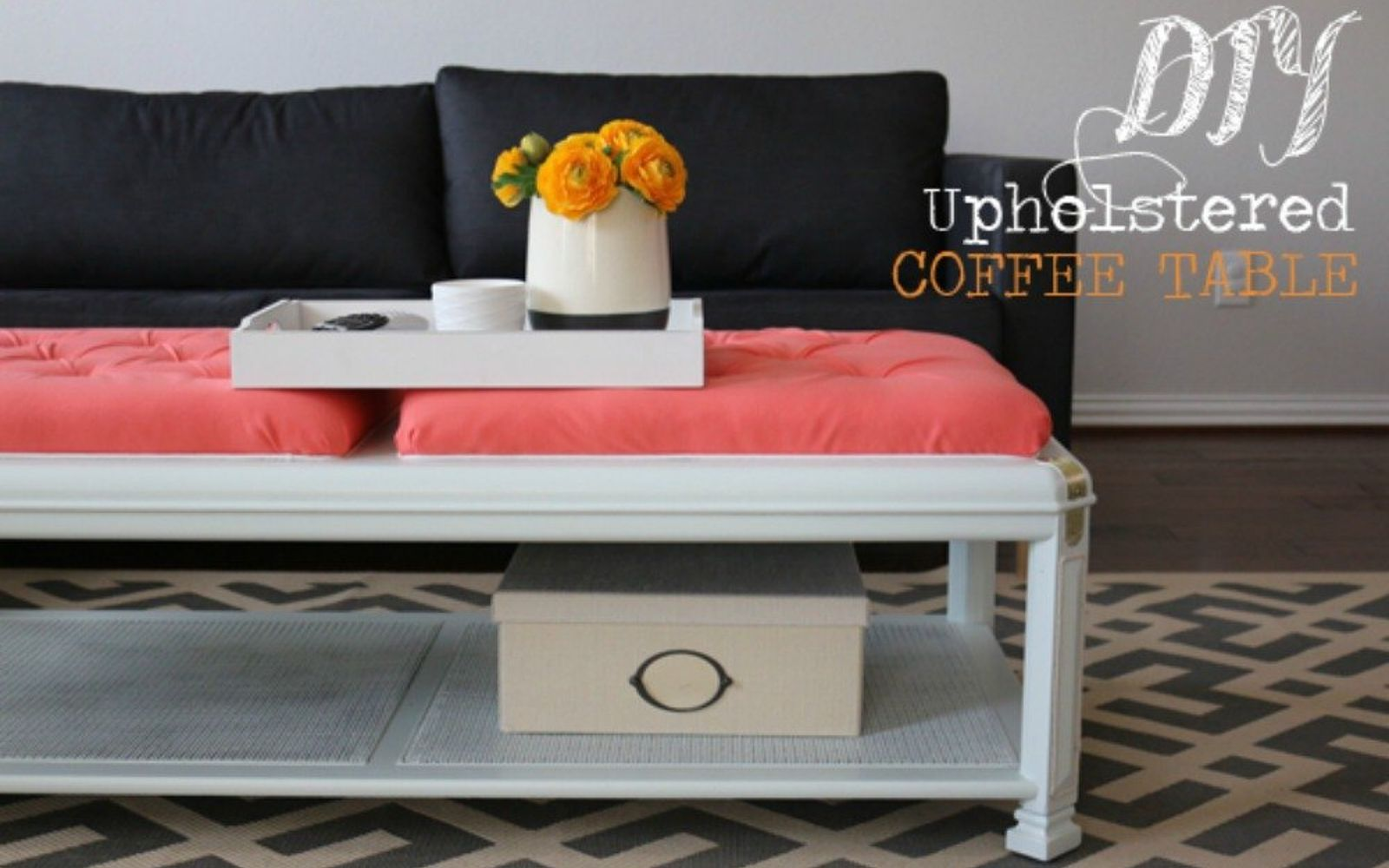 your quick catalog of gorgeous coffee table makeover ideas | hometalk