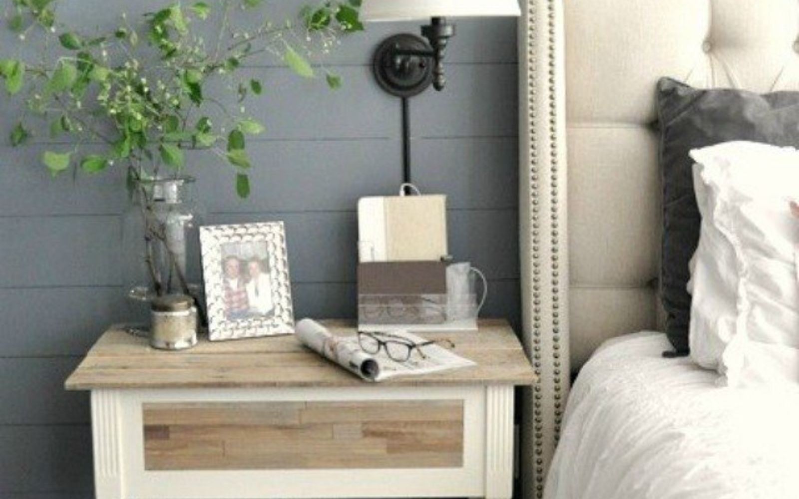s 12 wildly creative ways to use your old sewing table, painted furniture, Or as a polished nightstand