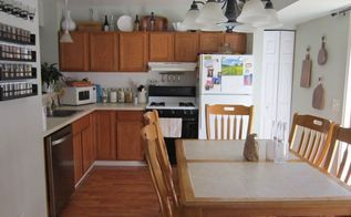 builder grade kitchen makeover on a budget , kitchen design