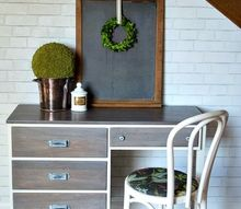 restoration hardware inspired desk, painted furniture