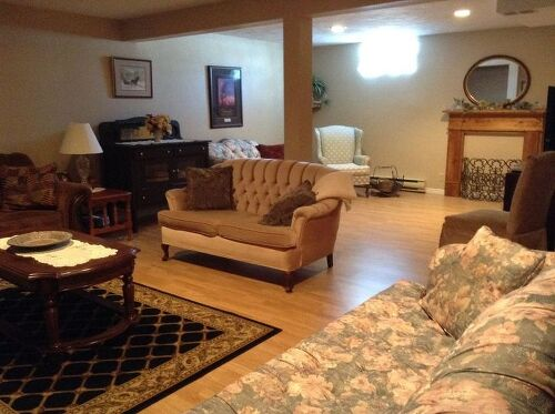 I Need Help Rearranging My Basement Family Room Hometalk