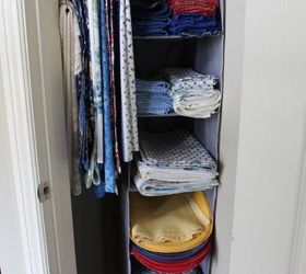 how to turn a small closet into storage for dining linens closet how to