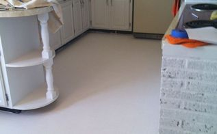 painting kitchen linoleum , flooring, kitchen design, painting