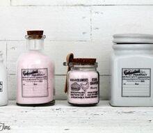 diy image transfer on glass bottles jars, crafts, how to