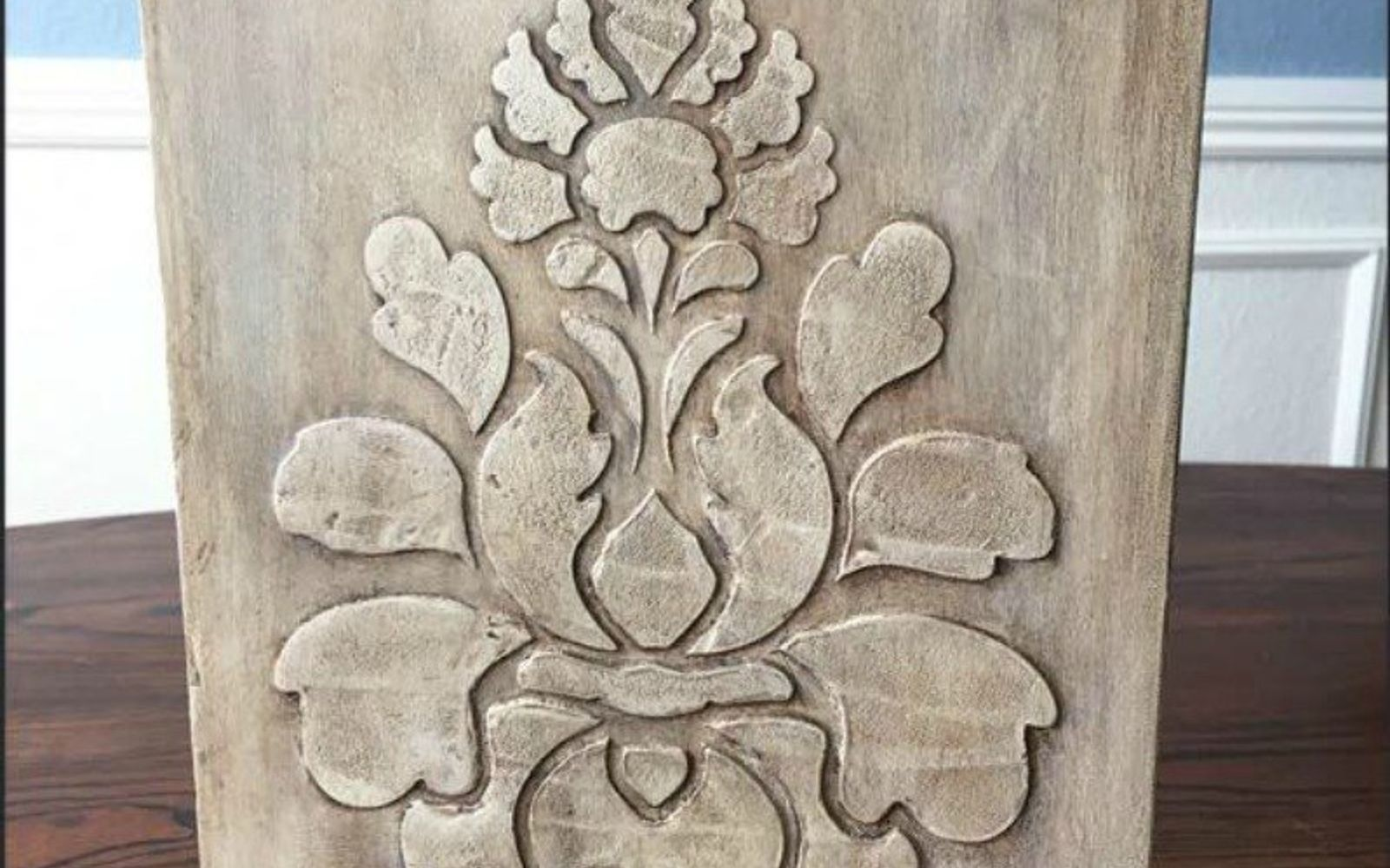 s 14 glamorous ways to upgrade your home using stencils, home decor, Create some texture for your furniture