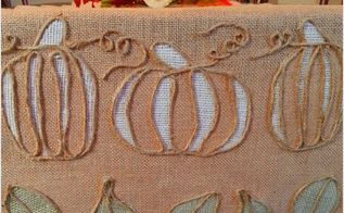 fall table runner, crafts, dining room ideas, how to, seasonal holiday decor