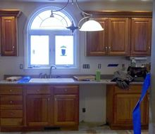 q painting kitchen cabinets, interior home painting, kitchen cabinets, painting, painting cabinets, Would like to paint these kitchen cabinets and add cabinets above