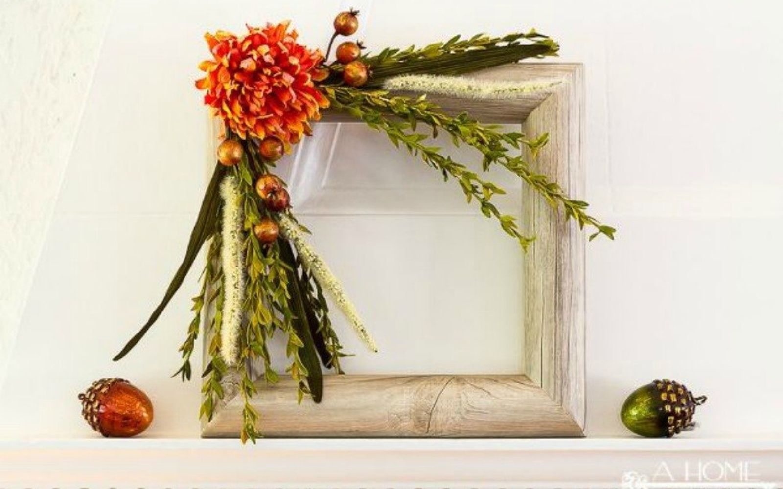 s 17 tricks to make a gorgeous wreath in half the time, crafts, wreaths, Or cut and cover it in contact paper