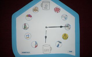 hometalk clock project made for the september 2016 contest , crafts, how to, I DID IT MADE MY CLOCK AND IT WORKS