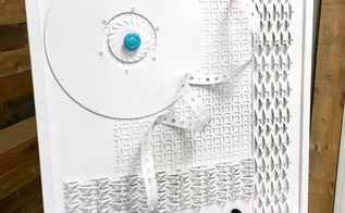 create your own wall art with recycled materials, bedroom ideas, crafts, home decor, living room ideas, small bathroom ideas