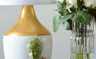 diy faux concrete and moss bust jewelry holder, concrete masonry