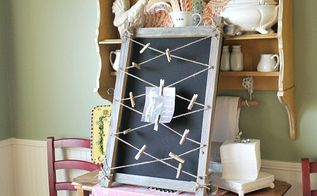 how to make a barn wood memo board, how to