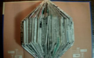 more with folded books no tools or glue required , crafts