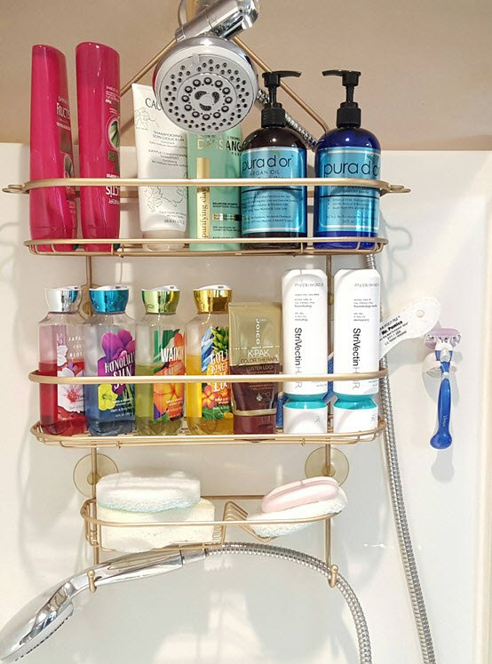 restore your rusty shower caddy to brand new bathroom ideas how to