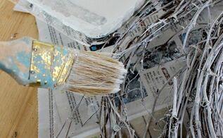 diy whitewashed twig fall wreath, crafts, seasonal holiday decor, wreaths