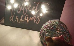 diy night light, crafts, home decor