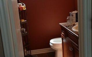 we gave our bathroom a farmhouse look , bathroom ideas, BEFORE