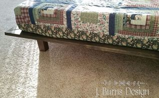 diy platform bed and barnwood finish, bedroom ideas, painting, woodworking projects